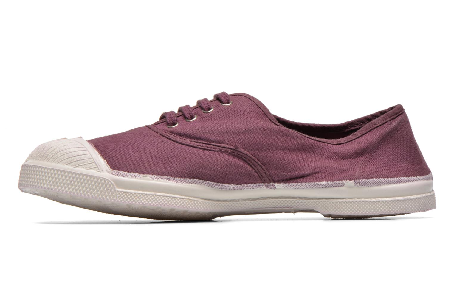 Baskets Bensimon Tennis Lacets W Violet vue face