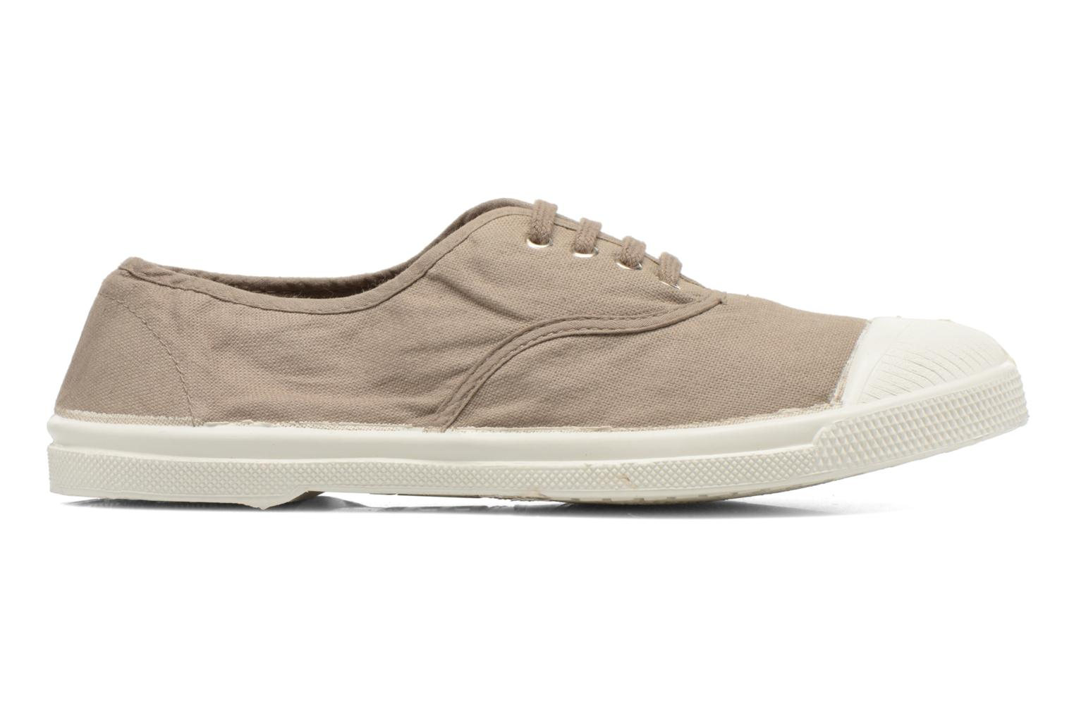 Trainers Bensimon Tennis Lacets Brown back view