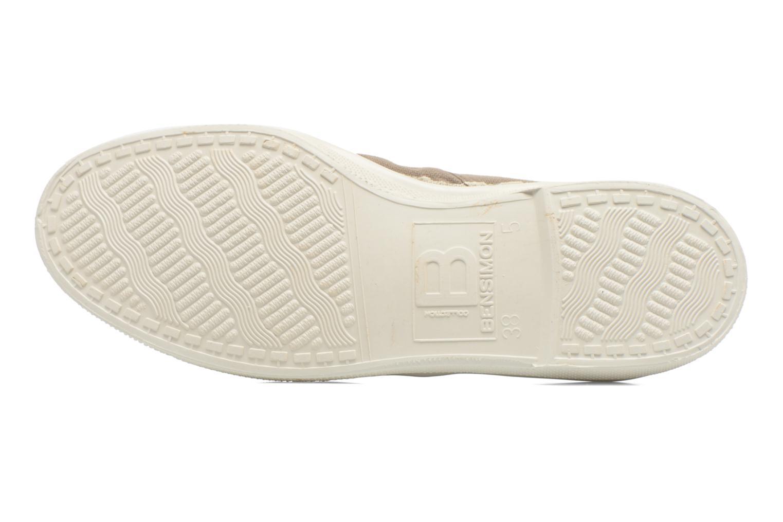 Sneakers Bensimon Tennis Lacets Bruin boven