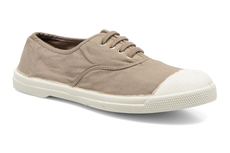 Sneakers Bensimon Tennis Lacets Brun detaljeret billede af skoene