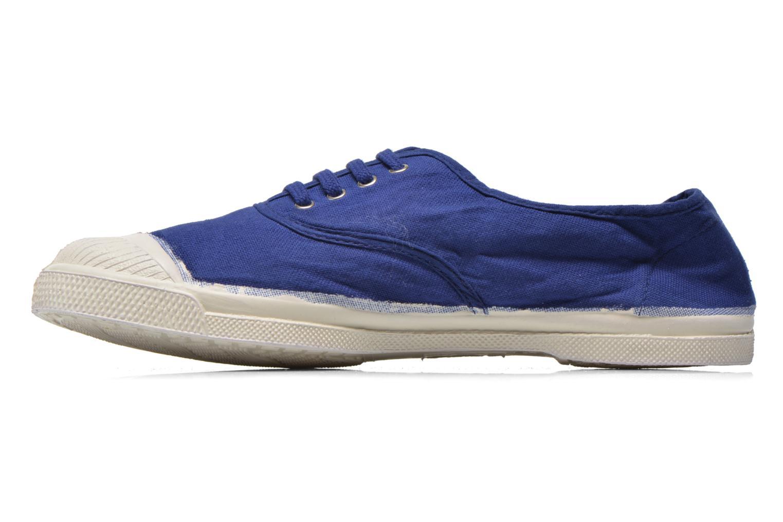 Deportivas Bensimon Tennis Lacets Azul vista de frente