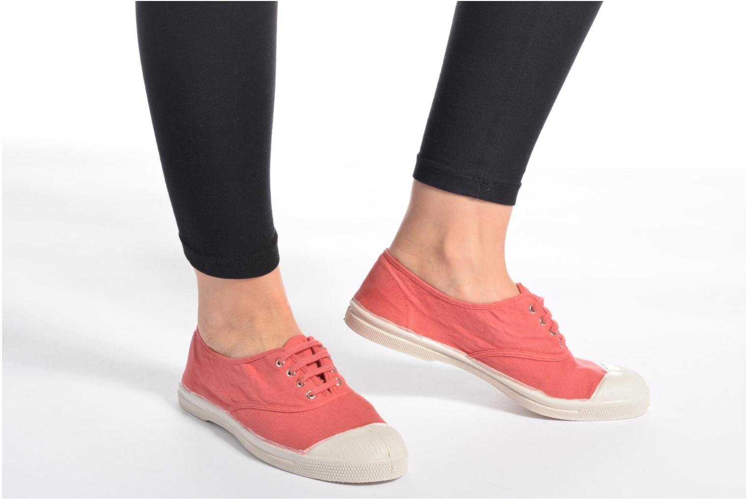 Sneakers Bensimon Tennis Lacets Rosa immagine dal basso