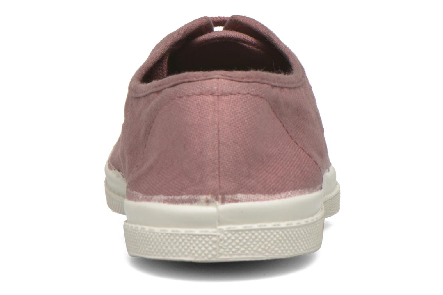 Sneakers Bensimon Tennis Lacets Rosa immagine destra