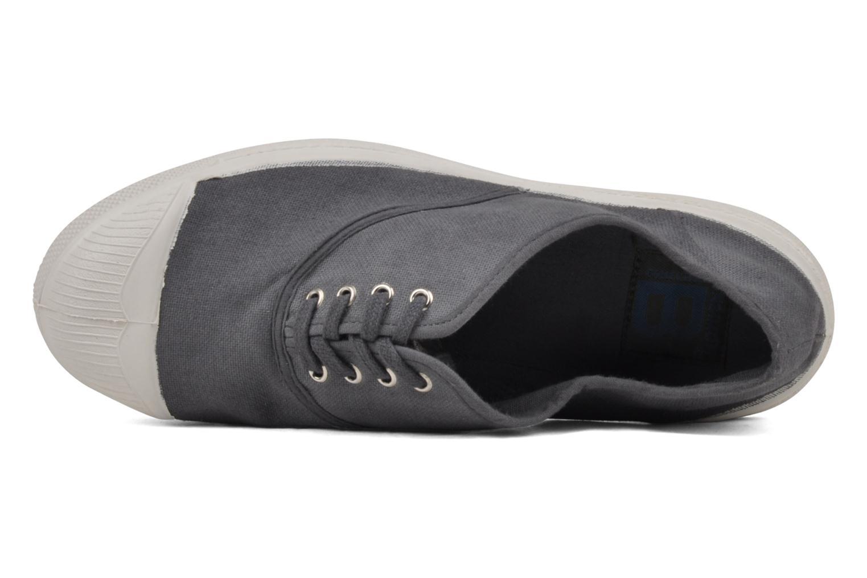 Sneaker Bensimon Tennis Lacets grau ansicht von links