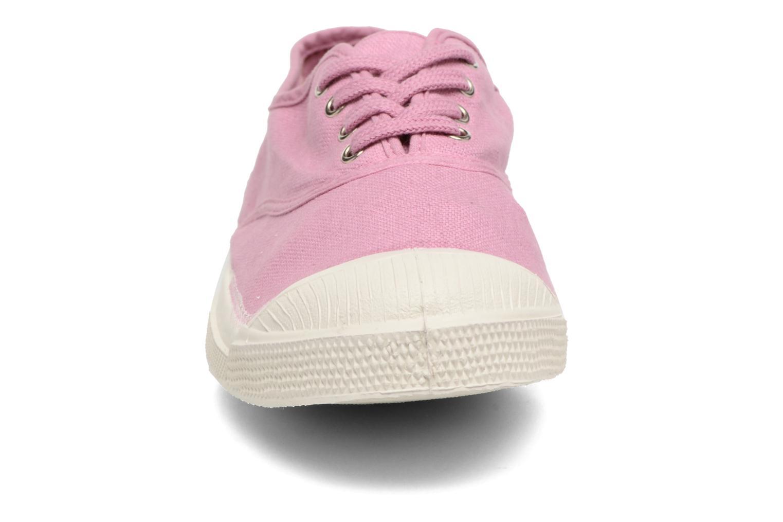 Sneaker Bensimon Tennis Lacets lila schuhe getragen