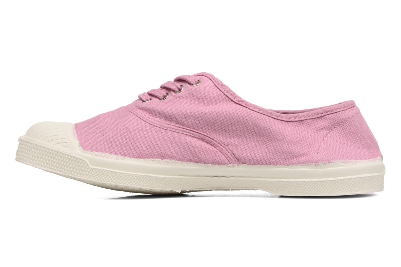 Sneaker Bensimon Tennis Lacets lila ansicht von vorne