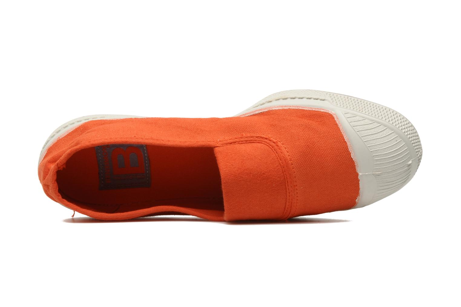 Ballerina's Bensimon Tennis Elastique Oranje links