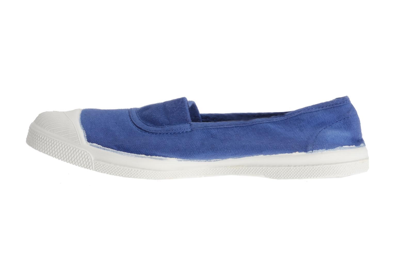 Ballerinas Bensimon Tennis Elastique blau ansicht von vorne