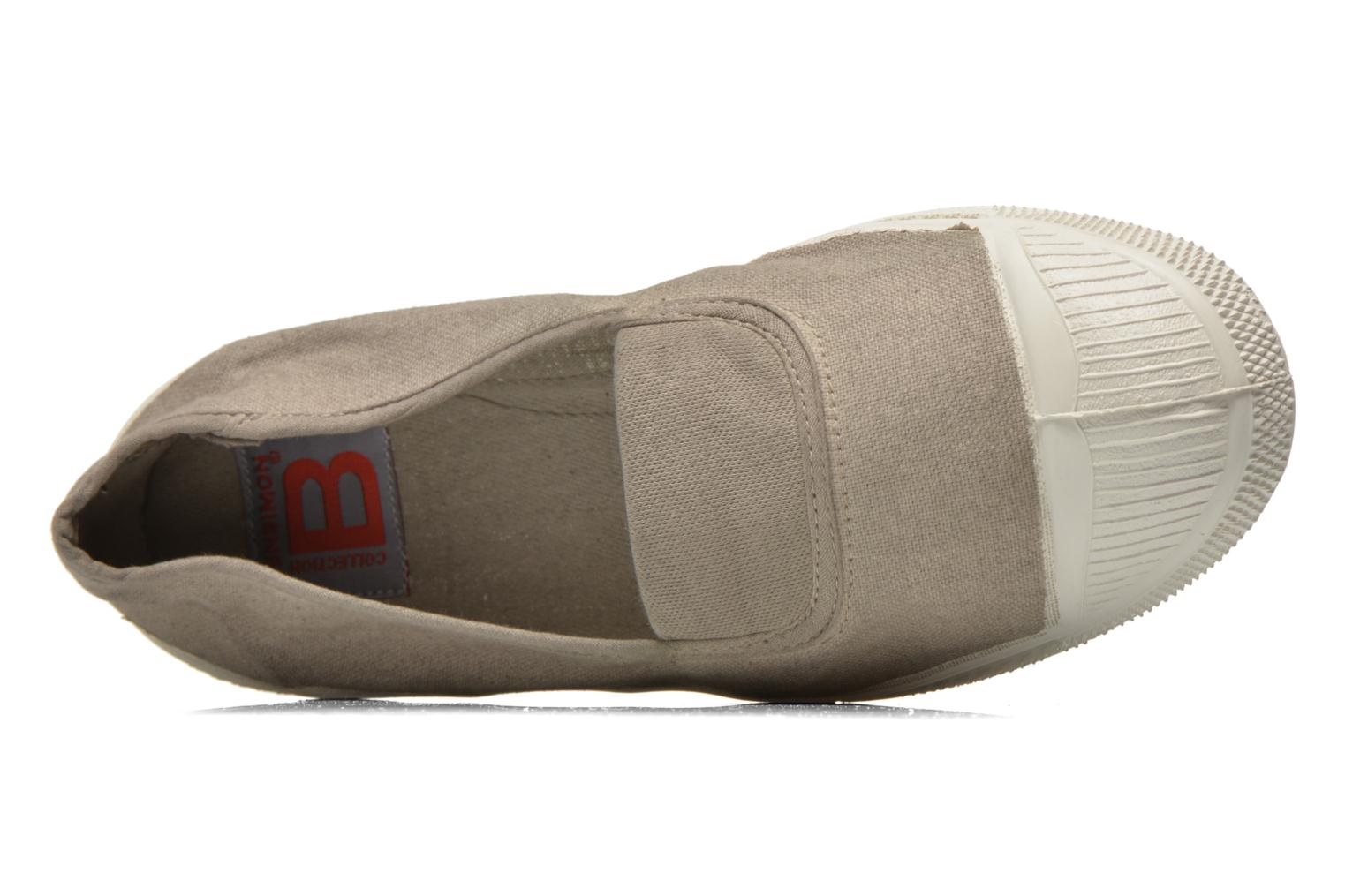Ballerinas Bensimon Tennis Elastique beige ansicht von links