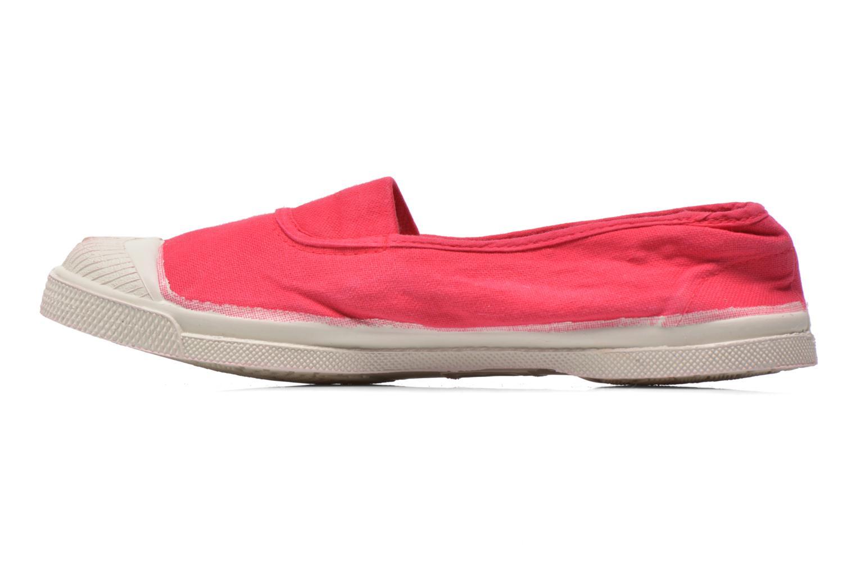 Ballet pumps Bensimon Tennis Elastique Red front view