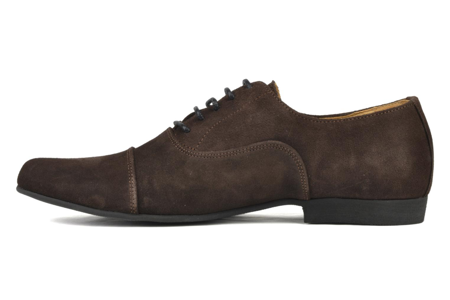 Lace-up shoes Swear Jimmy 1 Brown front view