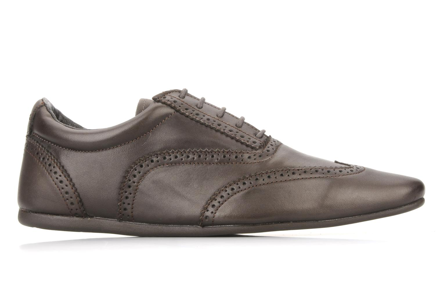 Lace-up shoes Schmoove Jamaica Corso Easy Brown back view