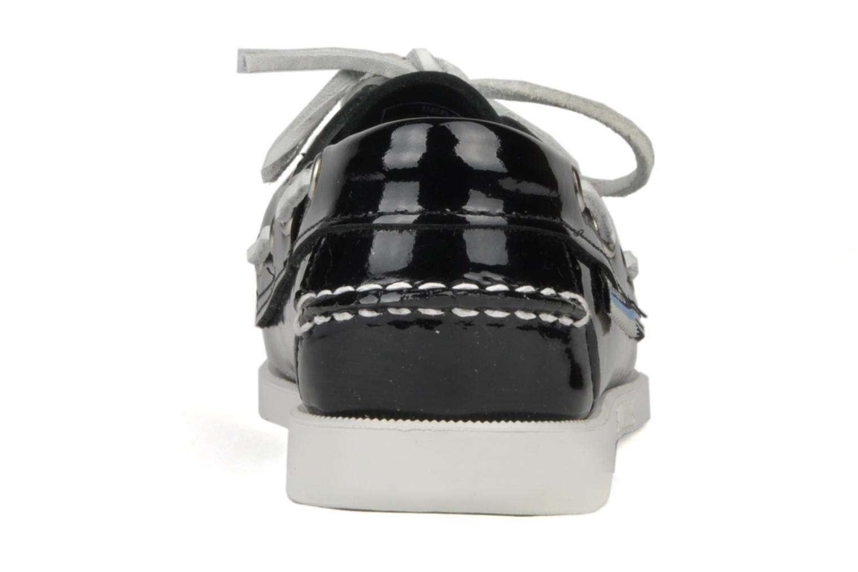 Chaussures à lacets Sebago Docksides W Noir vue droite