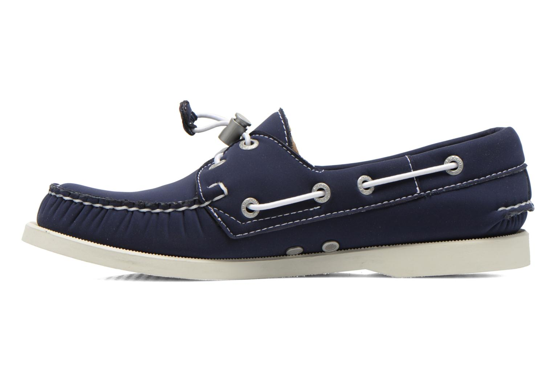 Zapatos con cordones Sebago Docksides W Azul vista de frente