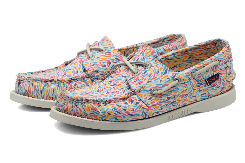Chaussures à lacets Sebago Docksides W Multicolore vue 3/4