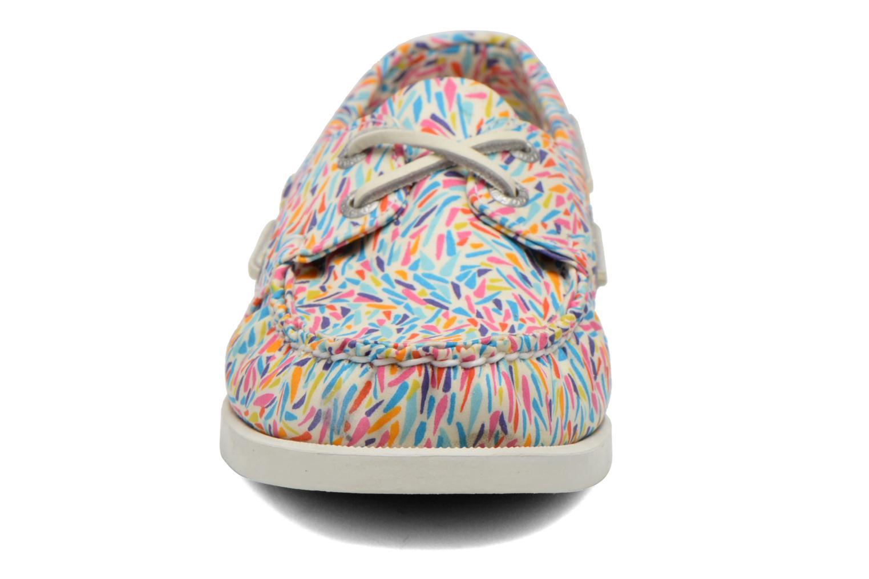 Chaussures à lacets Sebago Docksides W Multicolore vue portées chaussures