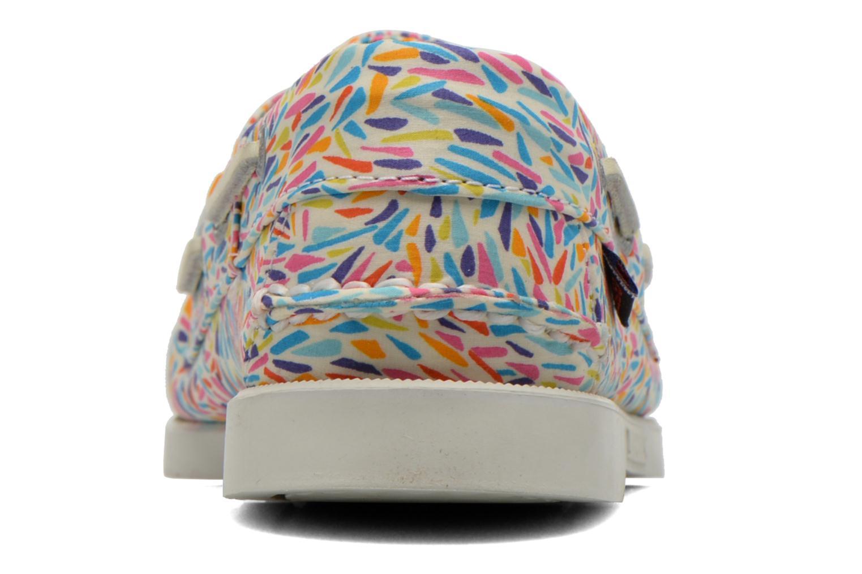 Chaussures à lacets Sebago Docksides W Multicolore vue droite