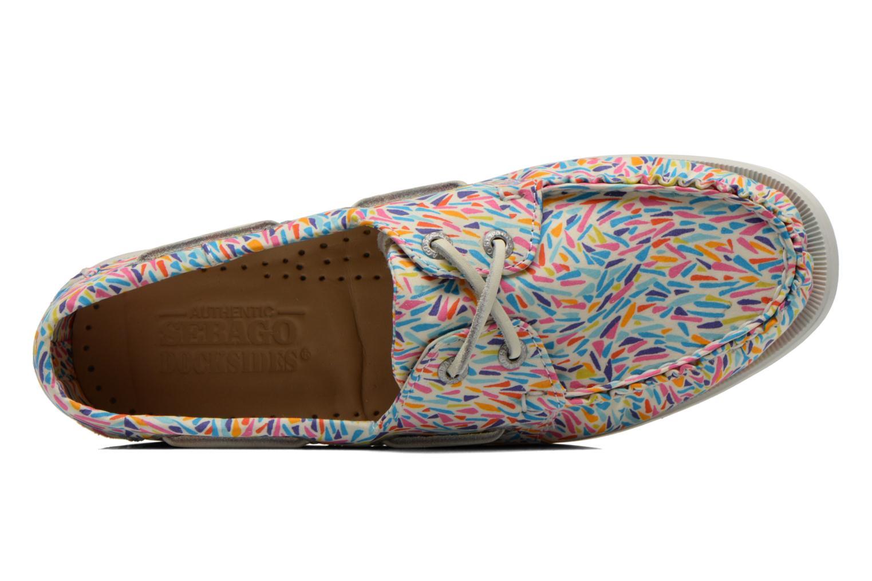 Chaussures à lacets Sebago Docksides W Multicolore vue gauche