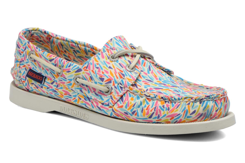 Chaussures à lacets Sebago Docksides W Multicolore vue détail/paire