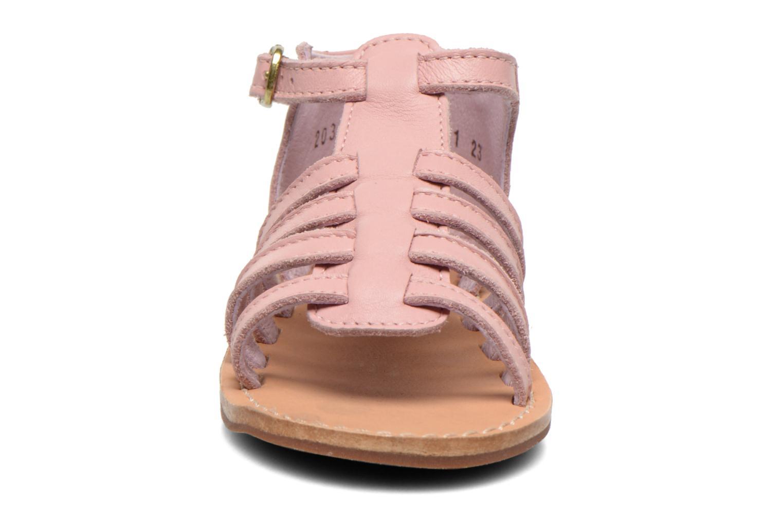Sandales et nu-pieds Aster Vision Rose vue portées chaussures