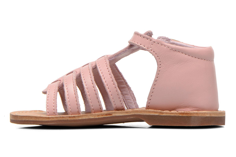 Sandales et nu-pieds Aster Vision Rose vue face