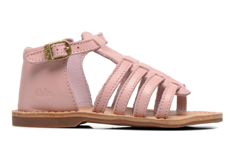 Sandales et nu-pieds Aster Vision Rose vue derrière