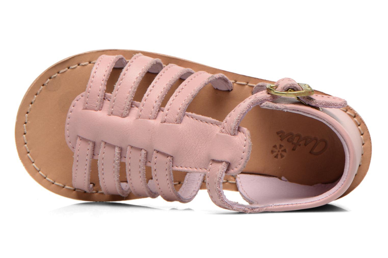 Sandales et nu-pieds Aster Vision Rose vue gauche