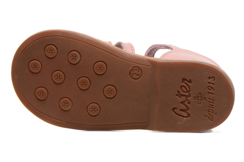 Sandales et nu-pieds Aster Vision Rose vue haut