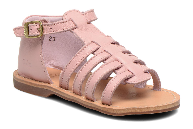 Sandales et nu-pieds Aster Vision Rose vue détail/paire