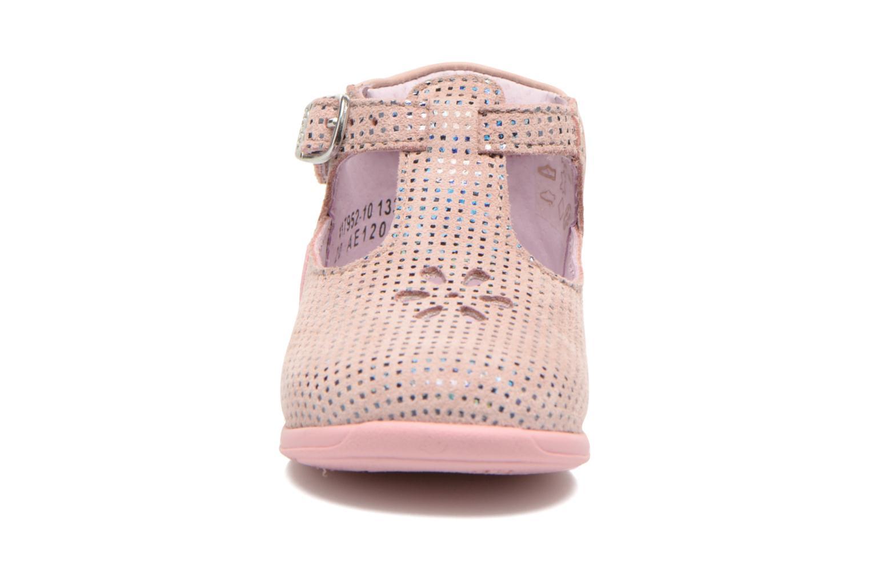 Bottines d'été Aster Odjumbo Rose vue portées chaussures