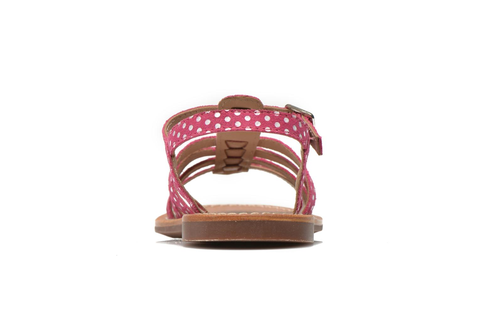 Sandals Aster Vibride Pink view from the right