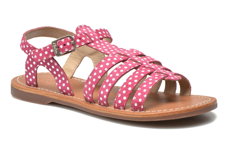 Sandaler Aster Vibride Pink detaljeret billede af skoene