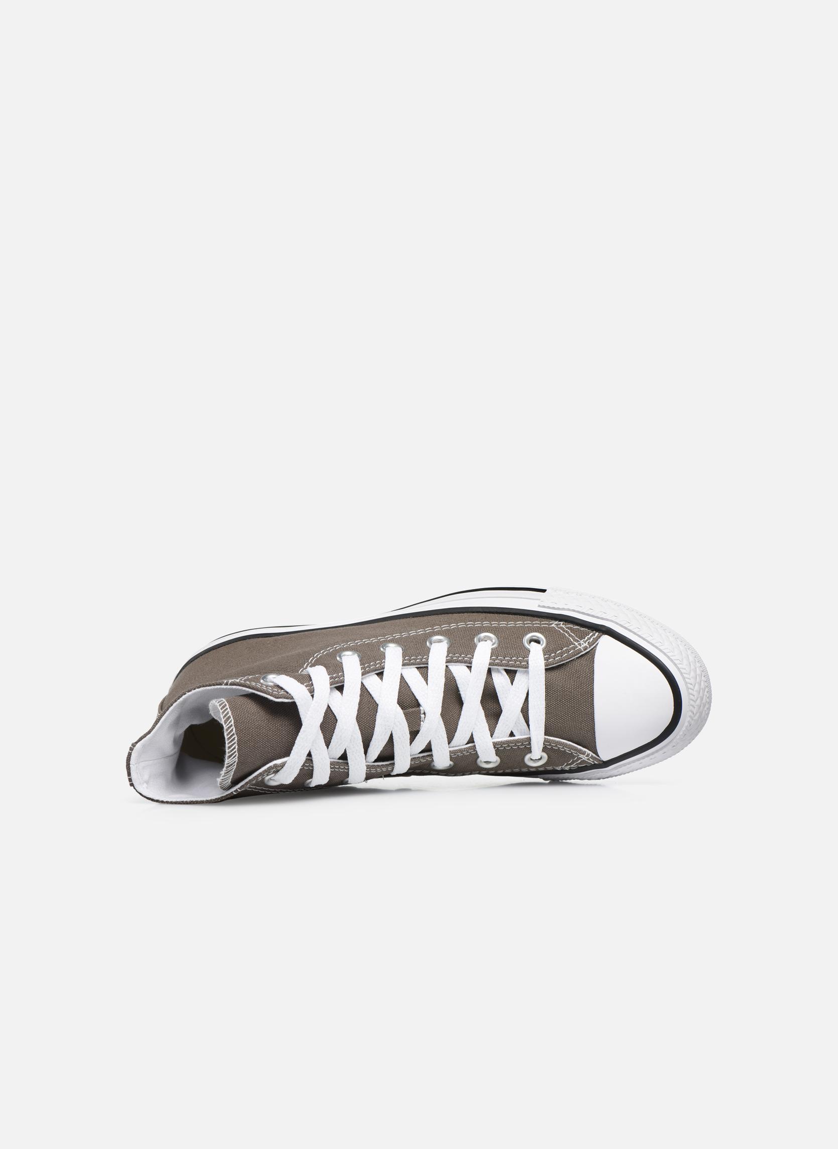 Sneakers Converse Chuck Taylor All Star Hi W Grigio immagine sinistra