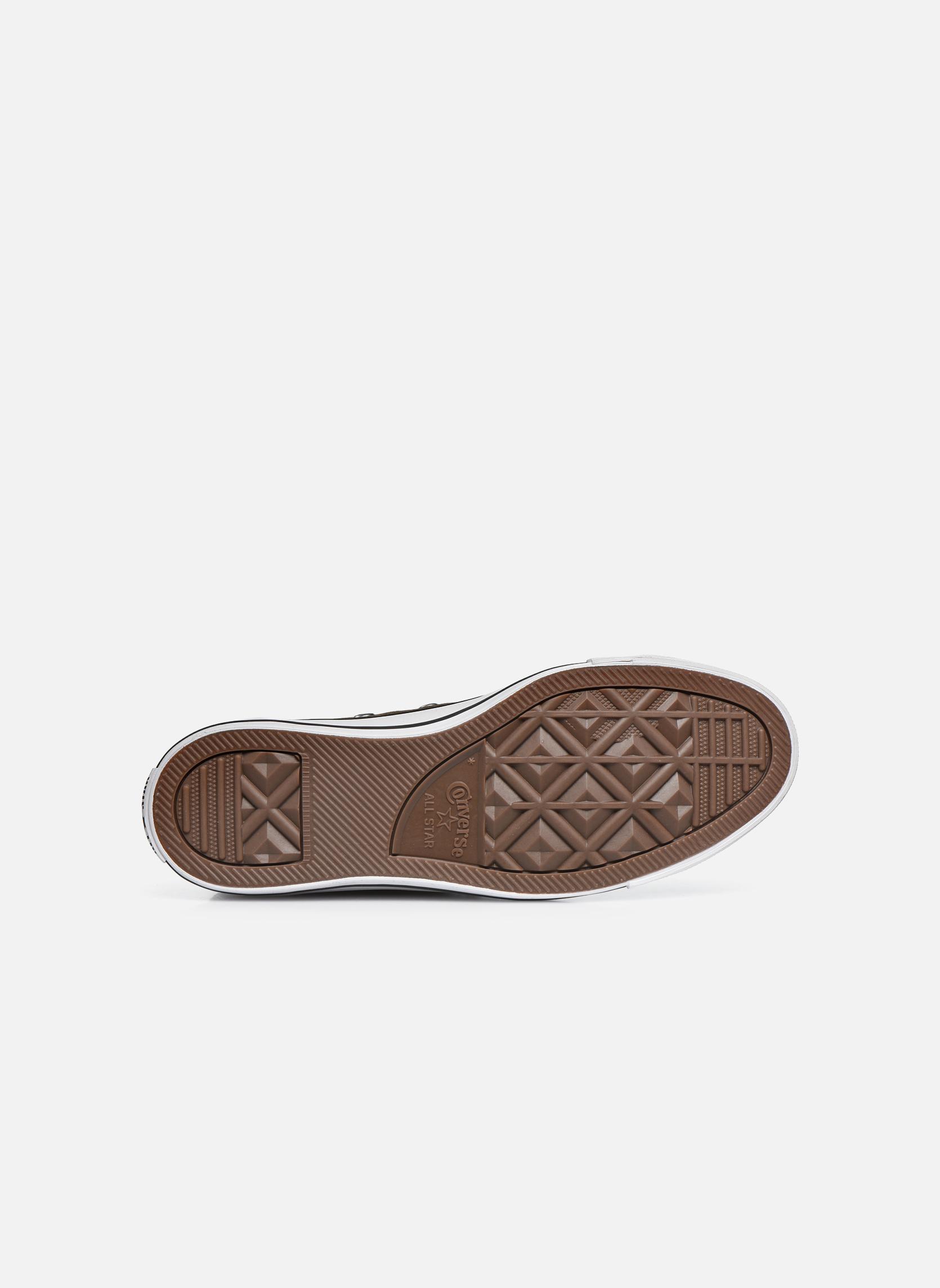 Sneaker Converse Chuck Taylor All Star Hi W grau ansicht von oben