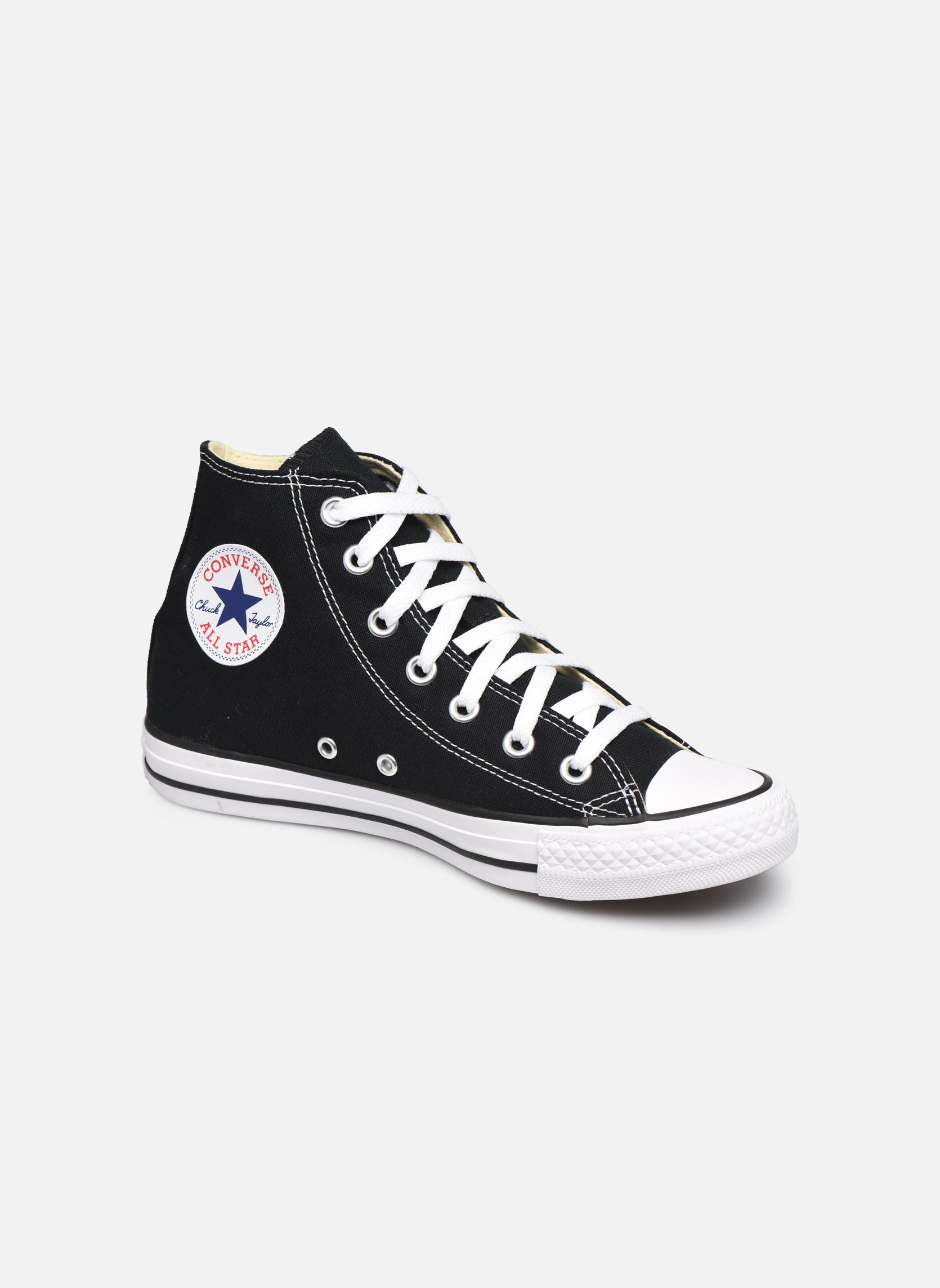 Sneakers Converse Chuck Taylor All Star Hi W Svart detaljerad bild på paret