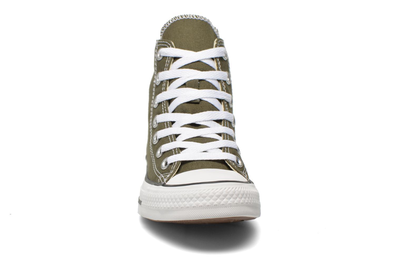 Sneaker Converse Chuck Taylor All Star Hi W grün schuhe getragen