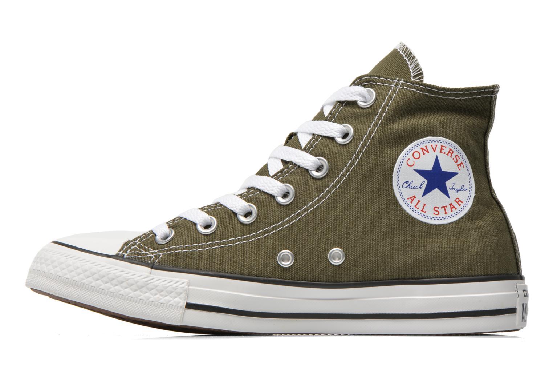 Sneaker Converse Chuck Taylor All Star Hi W grün ansicht von vorne