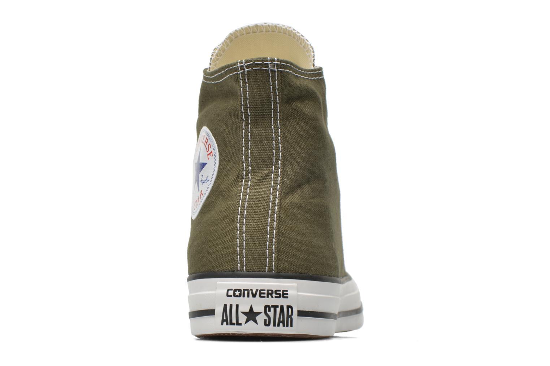 Sneaker Converse Chuck Taylor All Star Hi W grün ansicht von rechts