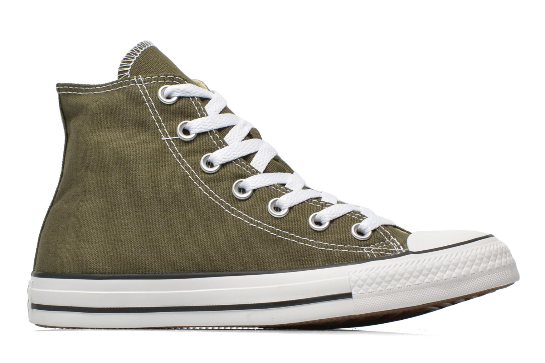 Sneaker Converse Chuck Taylor All Star Hi W grün ansicht von hinten