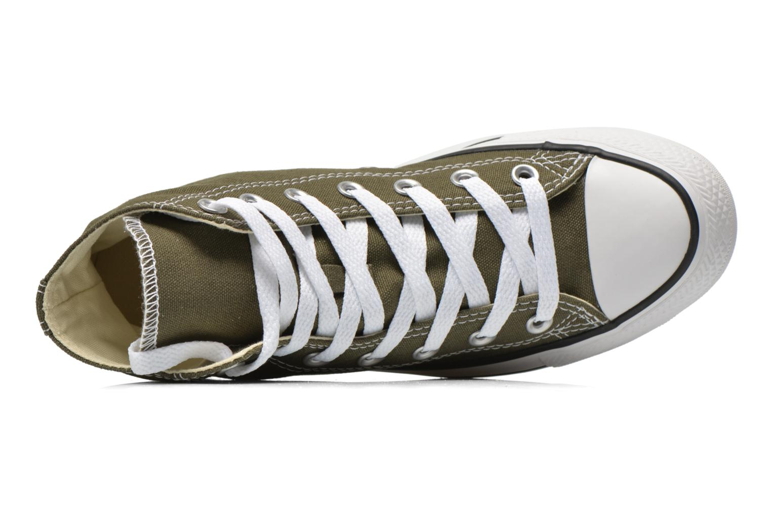 Sneakers Converse Chuck Taylor All Star Hi W Verde immagine sinistra