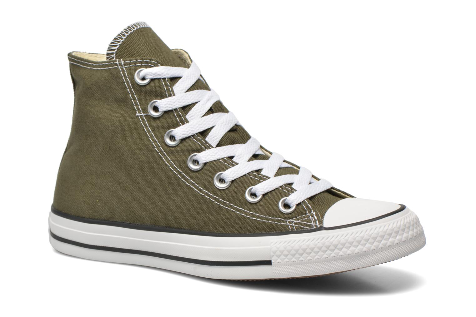 Sneakers Converse Chuck Taylor All Star Hi W Groen detail