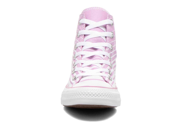 Sneaker Converse Chuck Taylor All Star Hi W rosa schuhe getragen