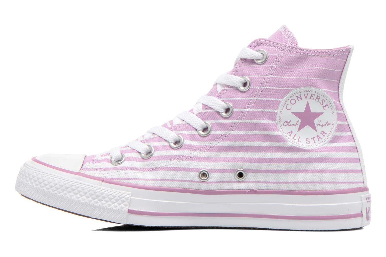 Chuck Taylor All Star Hi W Powder Purple-White-Natural