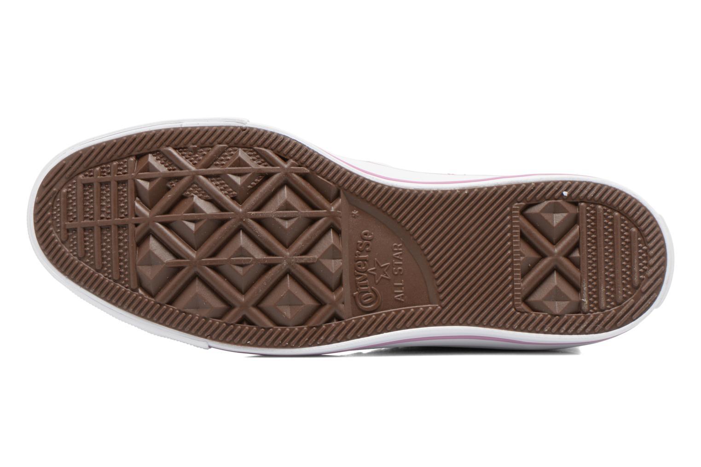Sneaker Converse Chuck Taylor All Star Hi W rosa ansicht von oben