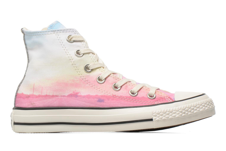 Sneaker Converse Chuck Taylor All Star Hi W rosa ansicht von hinten