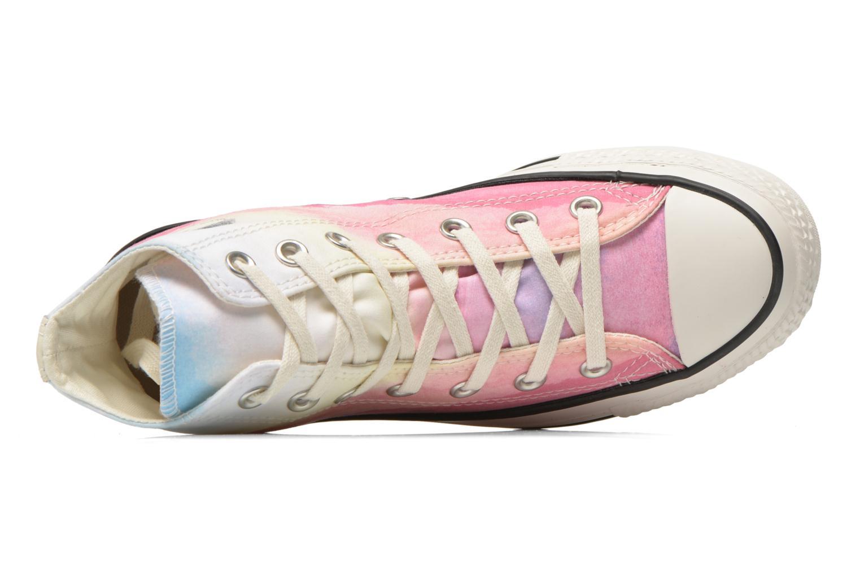 Sneaker Converse Chuck Taylor All Star Hi W rosa ansicht von links