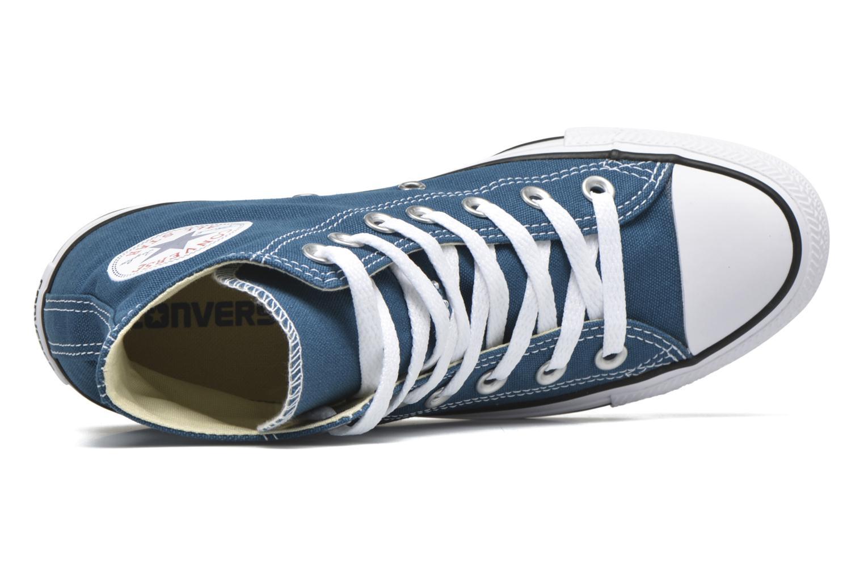 Sneaker Converse Chuck Taylor All Star Hi W blau ansicht von links