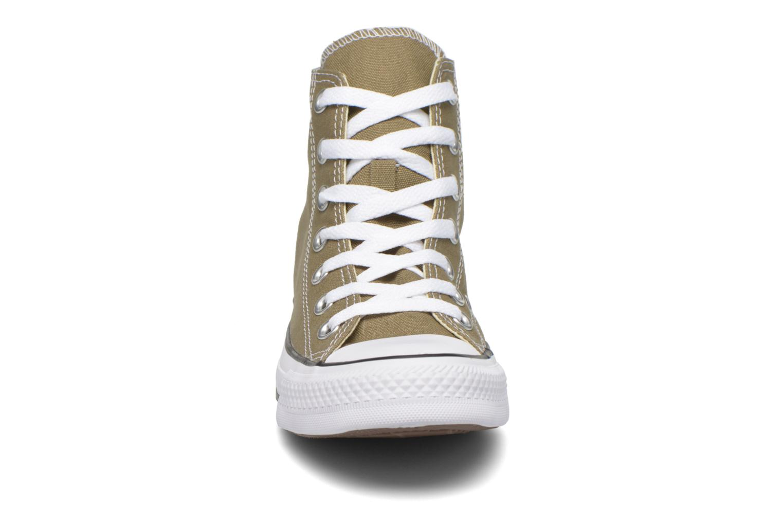 Baskets Converse Chuck Taylor All Star Hi W Vert vue portées chaussures