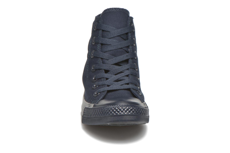 Sneaker Converse Chuck Taylor All Star Hi W blau schuhe getragen