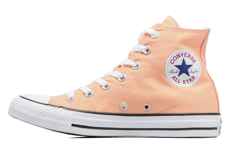 Sneakers Converse Chuck Taylor All Star Hi W Orange bild från framsidan